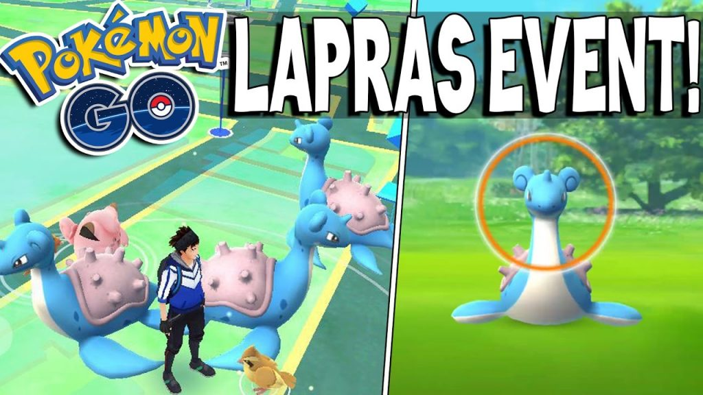 event pokemon go lapras 1